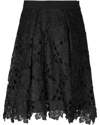 Jelena Bin Drai - Lace Pleated Skirt - Lyst