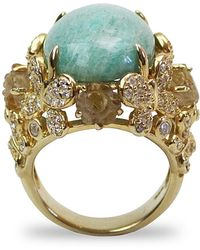 Bellus Domina - Amare Amazonite Ring - Lyst