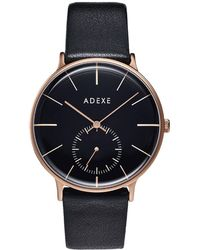 ADEXE Watches - Freerunner Grande Black & Rose Gold - Lyst