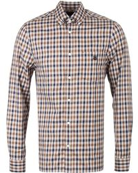 Aquascutum - York Vicuna Check Long Sleeve Shirt - Lyst