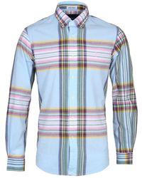 Polo Ralph Lauren - Blue Indian Madras Button-down Shirt - Lyst