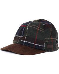 Barbour - Dotterel Olive Woollen Knit Sports Cap - Lyst