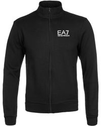EA7 - Core Id Black Fleece Tracksuit - Lyst
