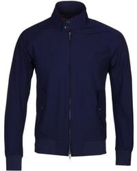 Baracuta - G9 Original Indigo Harrington Jacket - Lyst