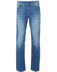 True Religion - Super T Ricky Straight Jeans - Lyst