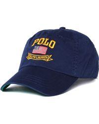 Polo Ralph Lauren - Usa Navy Cap - Lyst