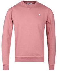 WOOD WOOD - Dark Rose Tye Sweatshirt - Lyst