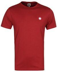 Pretty Green - Red Cotton T-shirt - Lyst