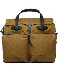 Filson - Dark Tan 24 Hour Tin Bag - Lyst