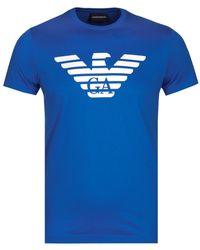 Emporio Armani - Logo T-shirt - Lyst