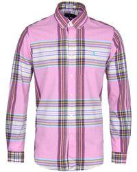 Polo Ralph Lauren Pink Indian Madras Button-down Shirt