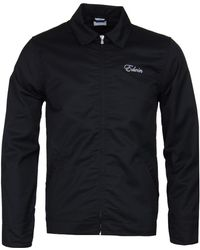 Edwin - Black Embroidered Capitol Jacket - Lyst