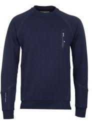 Henri Lloyd - Kinetics Navy Technical Sweatshirt - Lyst