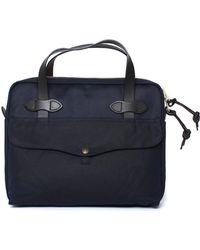 Filson - Navy Tablet Briefcase - Lyst