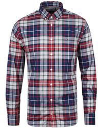 Tommy Hilfiger - Tommy Tartan Regular Fit Shirt - Lyst