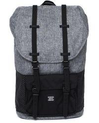 Herschel Supply Co. - Little America Raven Crosshatch Canvas Backpack - Lyst