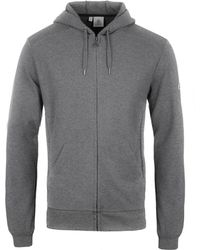 Pyrenex - Marl Grey Pique Imatra Hooded Zip Jumper - Lyst