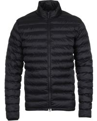 Barbour - Impeller Black Padded Jacket - Lyst