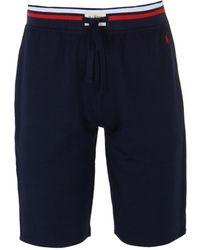 Polo Ralph Lauren - Navy Track Shorts - Lyst