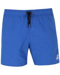 K-Way - Le Vrai 3.0 Olivier Royal Blue Swim Short - Lyst