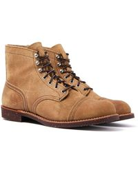 """Red Wing - 6"""" Iron Ranger Hawthorne Boots - Lyst"""