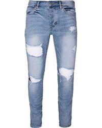 Neuw - Iggy Distressed Skinny Jeans - Lyst