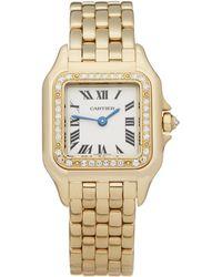 Cartier - Panthère Diamond 18k Yellow Gold - Lyst