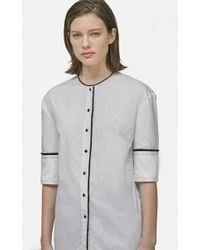 Yigal Azrouël - Button Front Shirt - Lyst