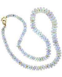 Irene Neuwirth - 114.25 Carat Opal Beaded Necklace - Lyst