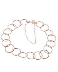 Melissa Joy Manning - Large Round Link Bracelet - Lyst