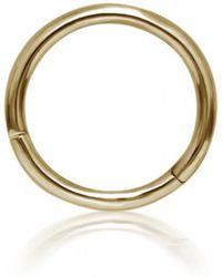 Maria Tash - 8mm Plain Hoop Earring - Lyst