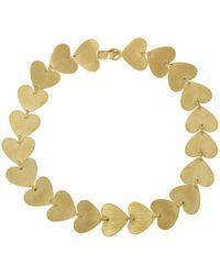 Irene Neuwirth - Small Multi Heart Bracelet - Lyst