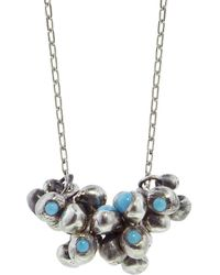 Ten Thousand Things - Turqouise Stud Molten Cluster Necklace - Lyst