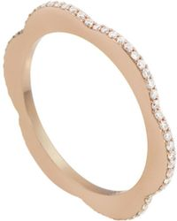 Raphaele Canot - Diamond Happy Deco Ring - Lyst