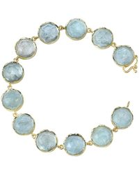 Irene Neuwirth - Fine Rose Cut Aquamarine Bracelet - Lyst