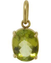 Irene Neuwirth - One-of-a-kind Light Green Tourmaline Charm - Lyst
