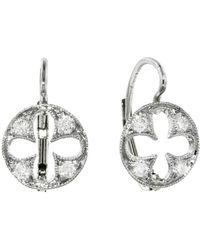 Cathy Waterman - Four Petal Cut Out Earrings - Lyst