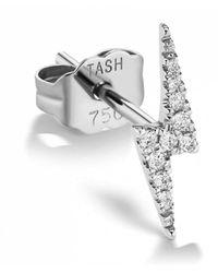 Maria Tash - 4.5mm Diamond Star Stud Single Earring - Lyst
