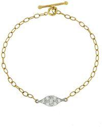 Cathy Waterman - Acorn Fringe Bracelet - Lyst