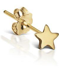 Maria Tash - Plain Star Single Earring - Lyst