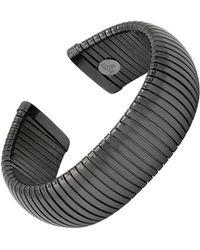 Janis Savitt - Open Large Gunmetal Cobra Cuff Bracelet - Lyst