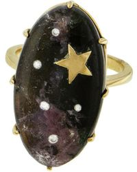 Andrea Fohrman - One-of-a-kind Tourmaline Mozambique Galaxy Ring - Lyst