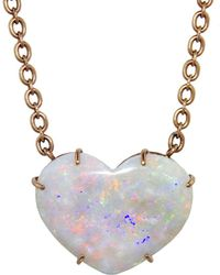 Irene Neuwirth - 29.30 Carat Opal Heart Necklace - Lyst