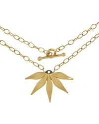 Cathy Waterman - Passion Flower Necklace - Lyst