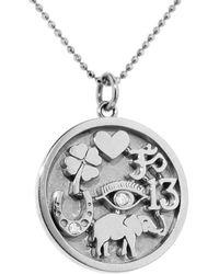 Jennifer Meyer - Good Luck Charm Necklace - Lyst