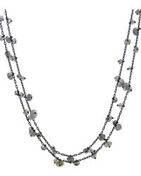 Ten Thousand Things - Long Pinned Labradorite Bead Chain Necklace - Lyst
