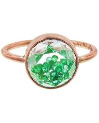 Moritz Glik - Emerald Shake Ring - Lyst