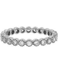 Sethi Couture - Diamond Bezel Band Ring - Lyst