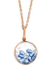 Moritz Glik - Blue Sapphire Shaker Necklace - Lyst