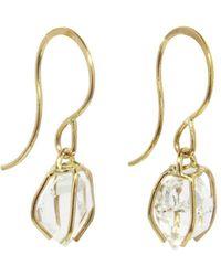 Melissa Joy Manning - Herkimer Diamond Drop Earrings - Lyst